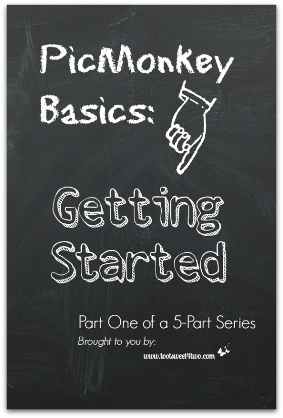 PicMonkey Basics - Getting Started cover