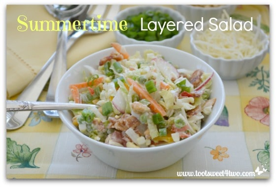 Summertime Layered Salad - Pic 1