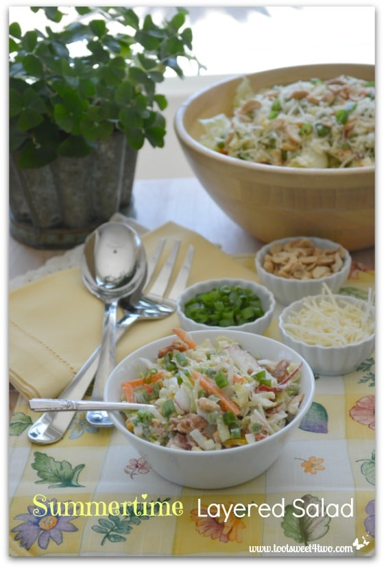 Summertime Layered Salad - Pic 2