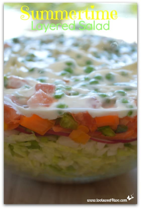 Summertime Layered Salad - Pic 5