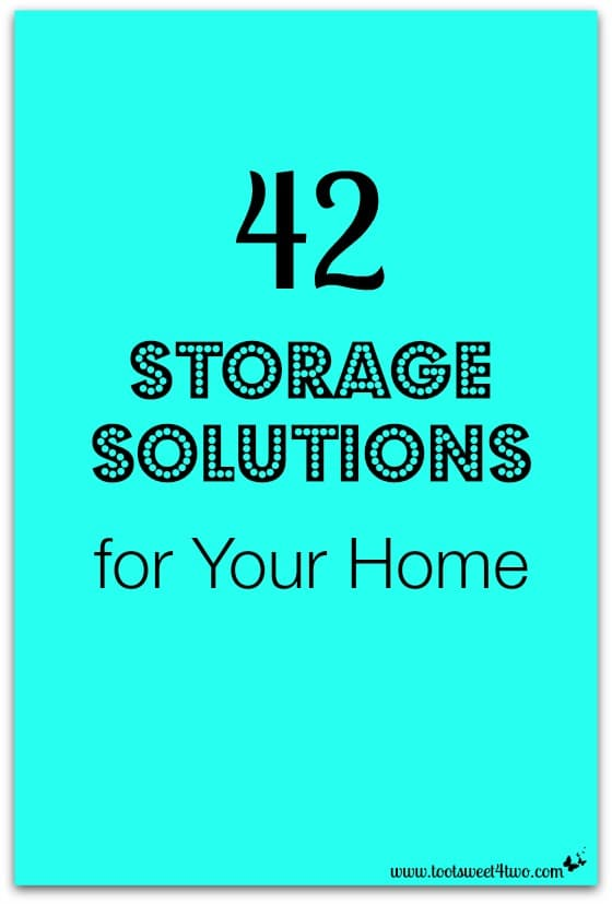 42 Storage Solutions for Your Home cover
