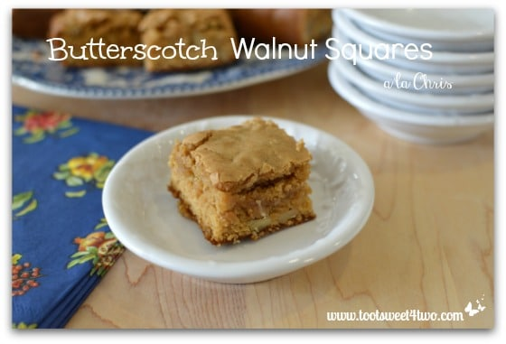 Butterscotch Walnuts Squares - Pic 4