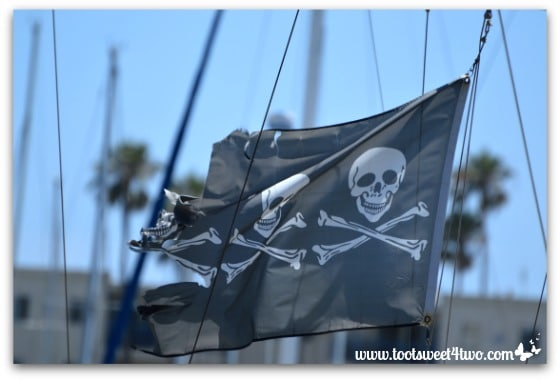 Pirate flag - Oceanside Harbor