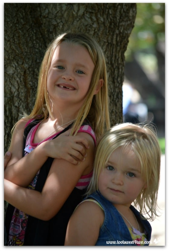 Strike a Pose - Princess P and Princess Sweetie Pie - Pic 13 - Old Poway Park