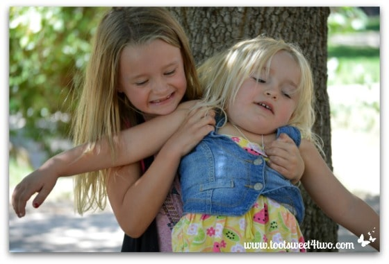 Strike a Pose - Princess P and Princess Sweetie Pie - Pic 15 - Old Poway Park