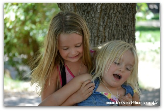 Strike a Pose - Princess P and Princess Sweetie Pie - Pic 16 - Old Poway Park