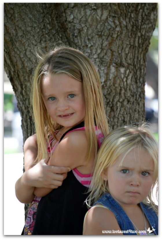 Strike a Pose - Princess P and Princess Sweetie Pie - Pic 3 - Old Poway Park