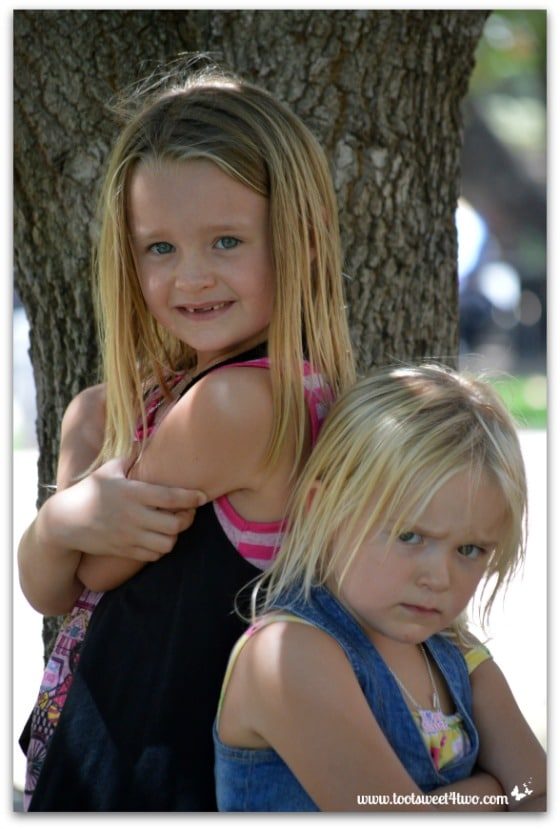 Strike a Pose - Princess P and Princess Sweetie Pie - Pic 4 - Old Poway Park