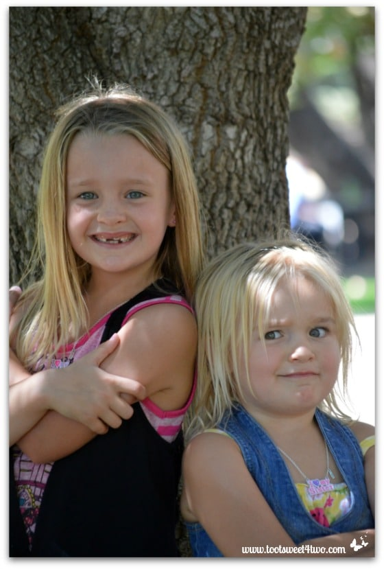 Strike a Pose - Princess P and Princess Sweetie Pie - Pic 5 - Old Poway Park