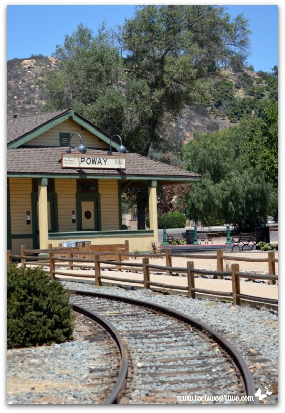 Strike a Pose - train depot 2 - Old Poway Park