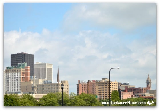 Downtown Buffalo from Canalside Pic 1