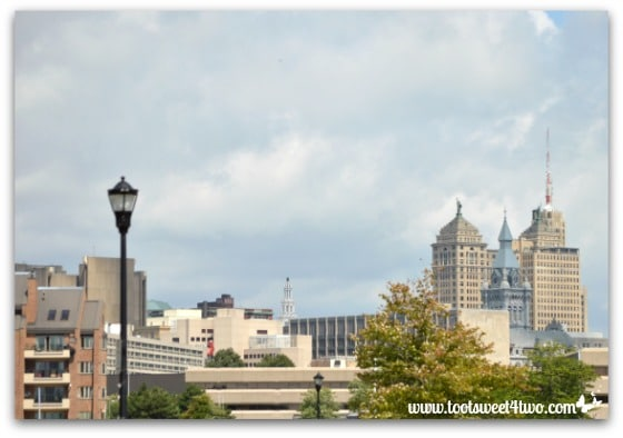 Downtown Buffalo from Canalside Pic 2
