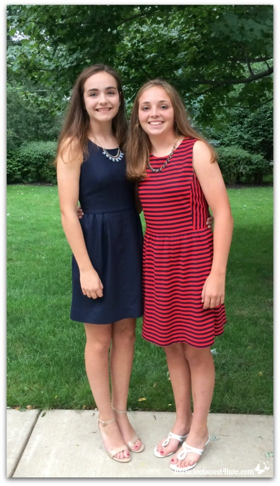 Molly and Bizzy - Homecoming Pic 1