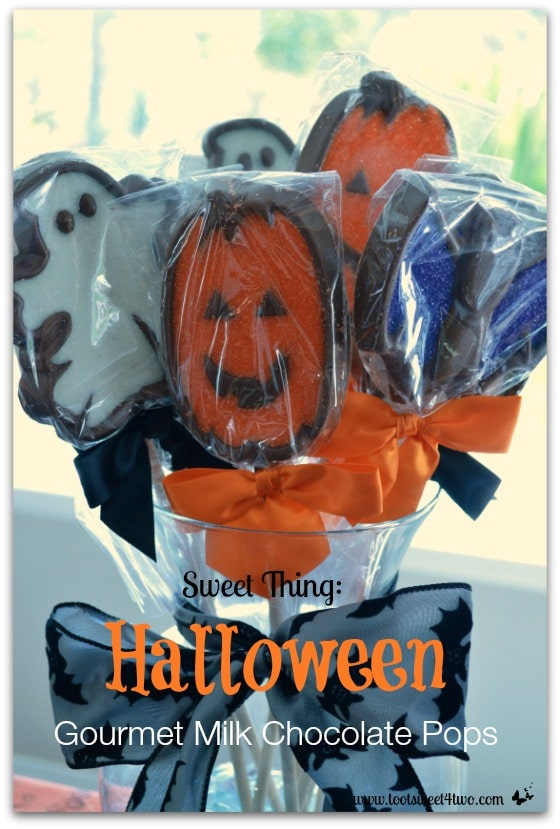 Halloween Gourmet Milk Chocolate Pops cover