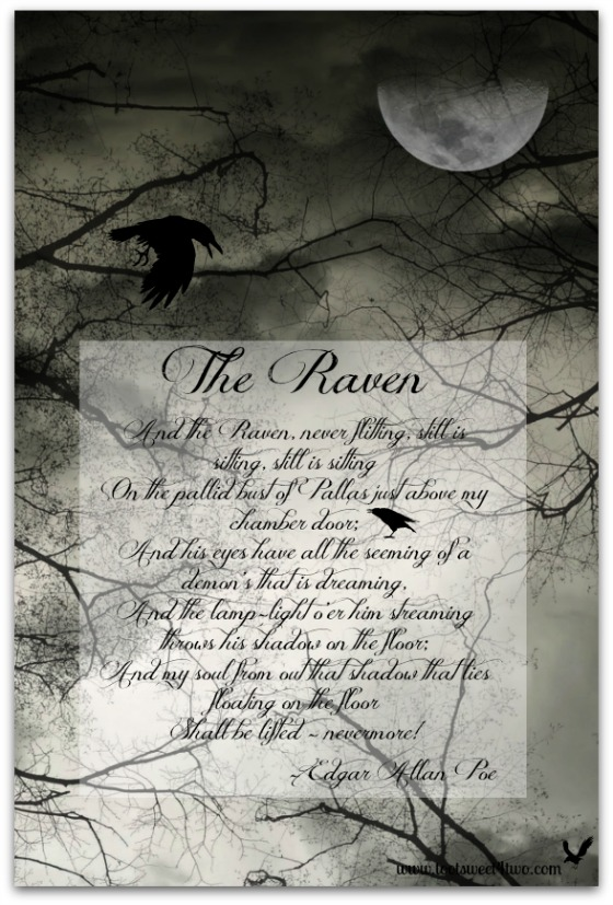 Last stanza of Edgar Allan Poe's The Raven