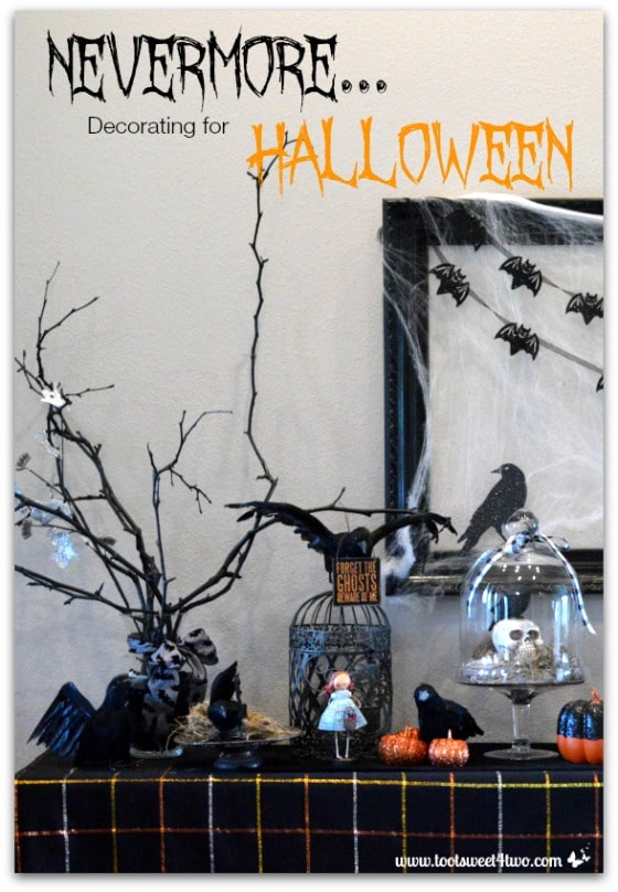 Nevermore Decorating for Halloween cover