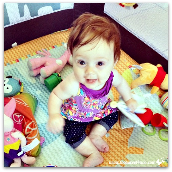 Princess Sweet Cheeks and her toys - 42 Types of Baby and Toddler Toys