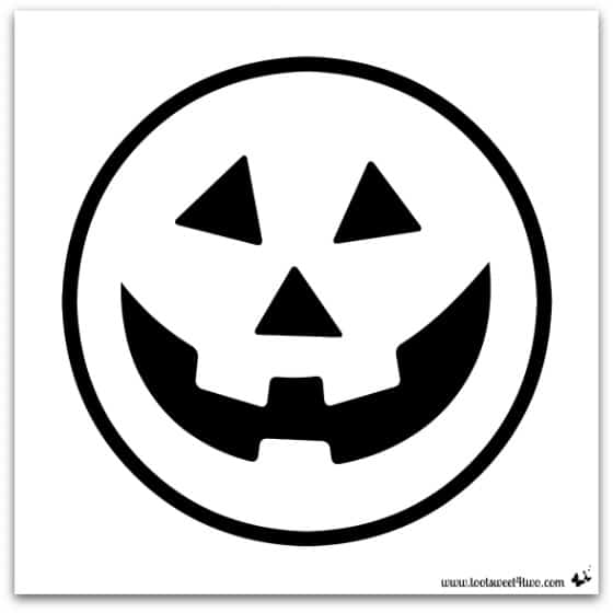 ... Jack-O-Lantern stencil in PicMonkey for your Easy Jack-O-Lantern