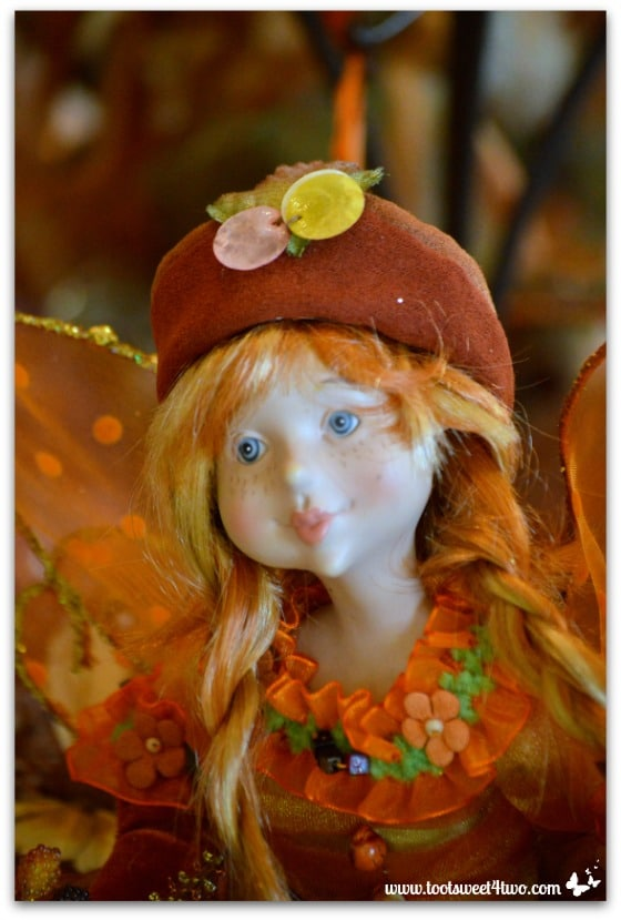 Braided red-headed fairy