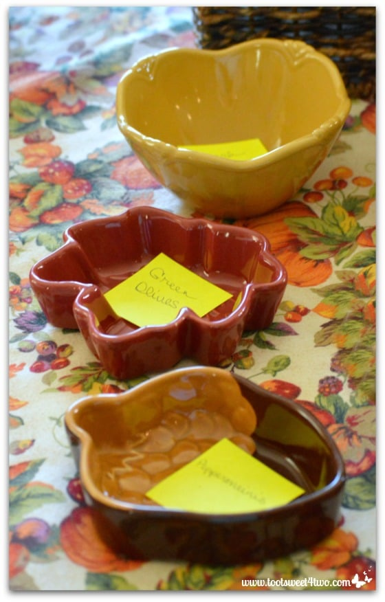 More serving dishes for Thanksgiving dinner