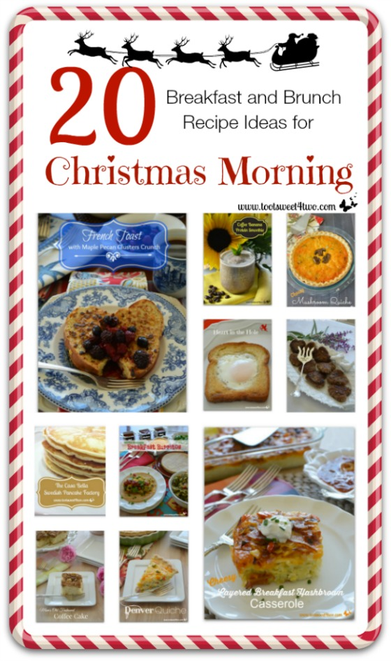 20 Breakfast and Brunch Recipe Ideas for Christmas Morning cover