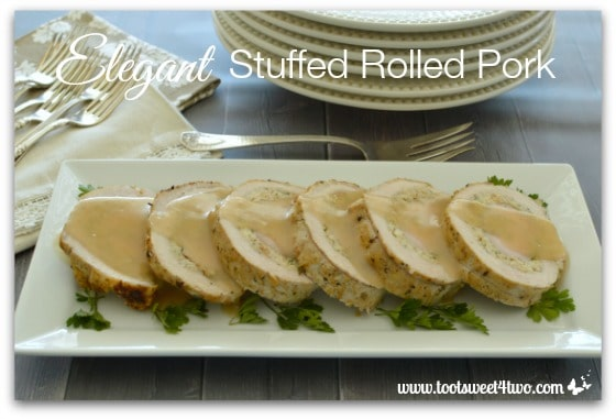 Elegant Stuffed Rolled Pork