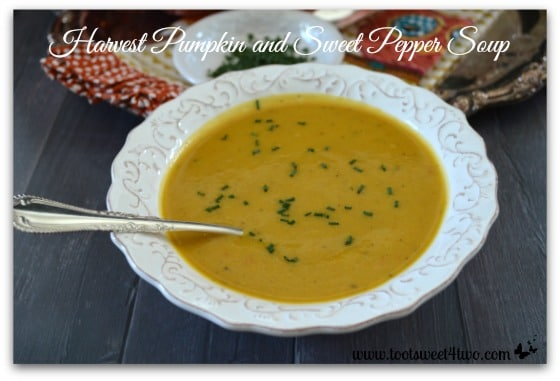 Harvest Pumpkin and Sweet Pepper Soup Pic 1