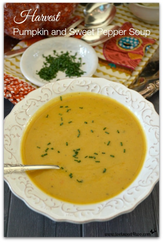 Harvest Pumpkin and Sweet Pepper Soup Pic 2
