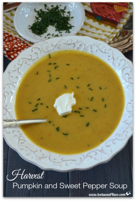 Harvest Pumpkin and Sweet Pepper Soup Pic 3
