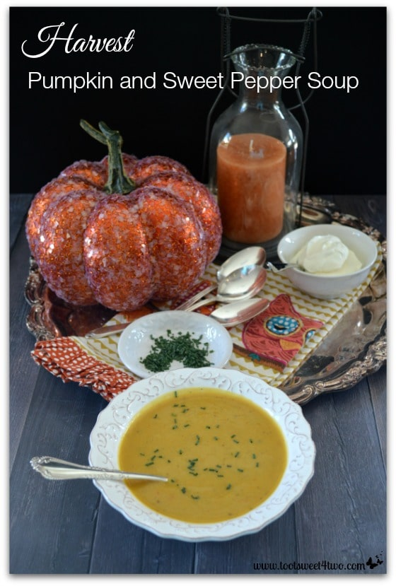 Harvest Pumpkin and Sweet Pepper Soup cover