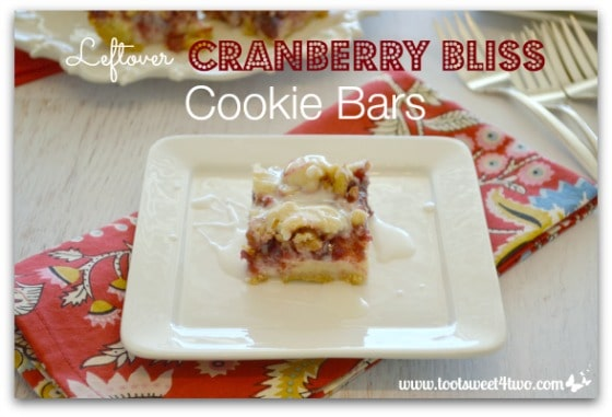 Leftover Cranberry Bliss Cookie Bars Pic 2