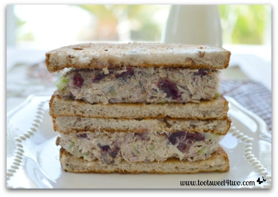 Leftover Turkey Salad Toasted Sandwiches Pic 1