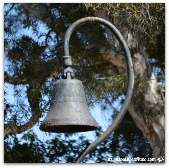 Mission Bell in Presidio Park San Diego