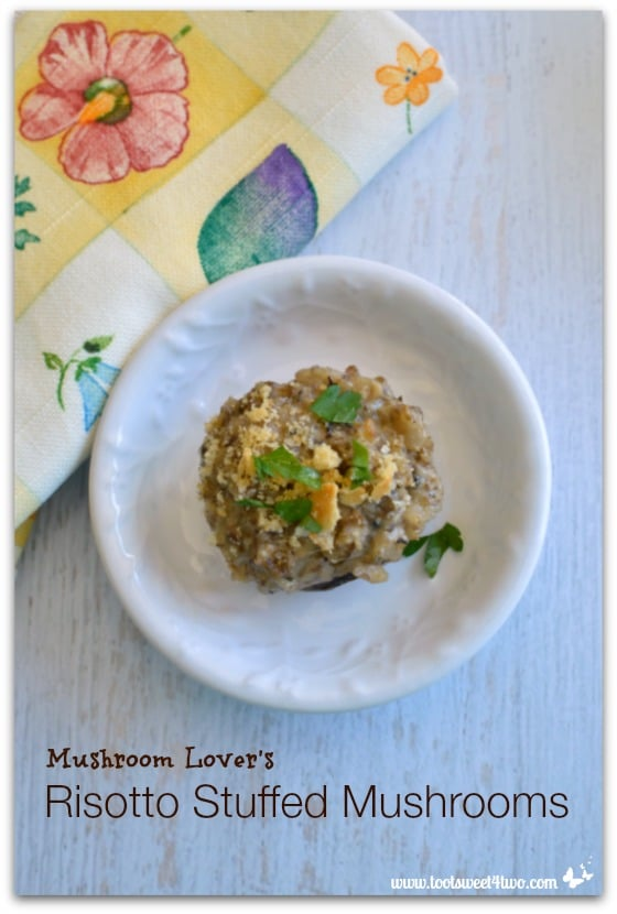 Mushroom Lover's Risotto Stuffed Mushrooms - Pic 3