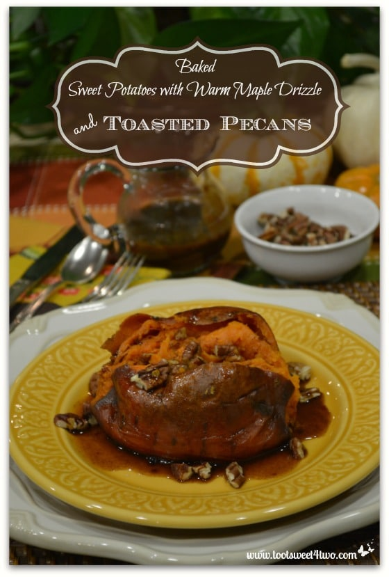 Pic 12 Baked Sweet Potatoes with Warm Maple Drizzle and Toasted Pecans