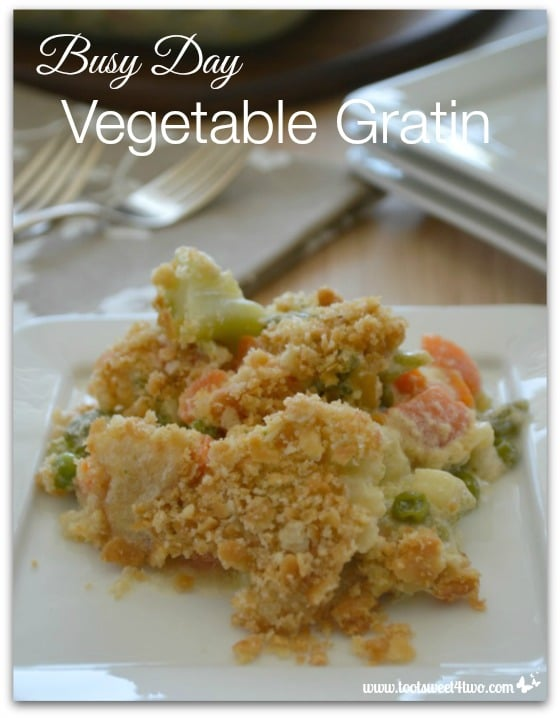 Pic 15 Busy Day Vegetable Gratin