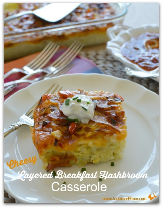 Pic 16 Cheesy Layered Breakfast Hashbrown Casserole