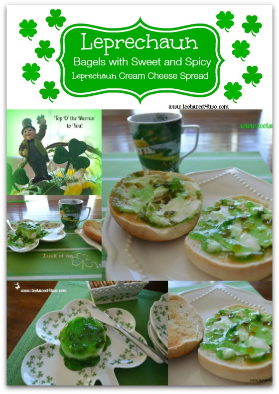 Pic 17 Leprechaun Bagels collage