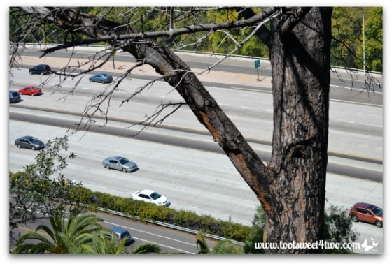 San Diego Interstate 8 below Presidio Park