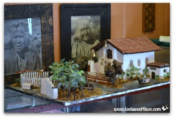 Diorama of St. John the Baptist Catholic Church - Mission Santa Ysabel
