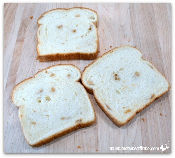 French Toast bread slices