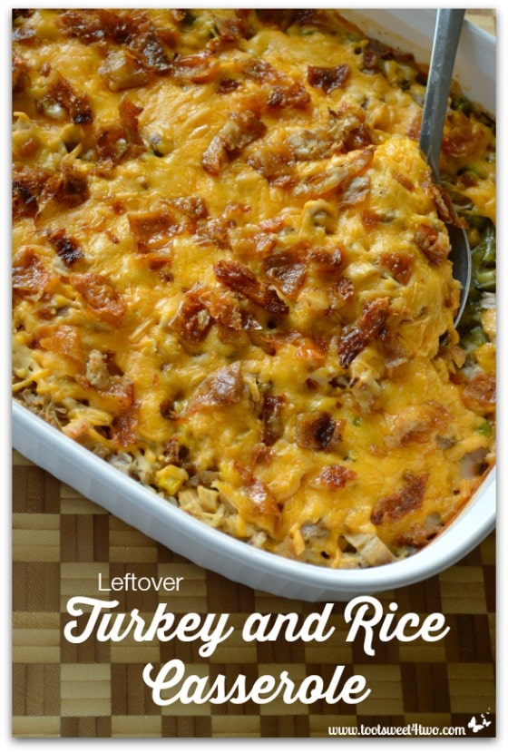 Leftover Turkey and Rice Casserole Pic 1