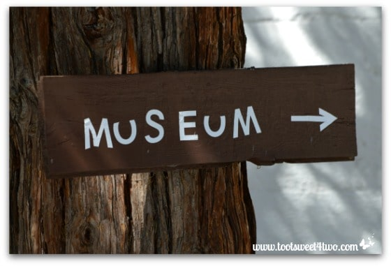 Museum sign - Mission Santa Ysabel
