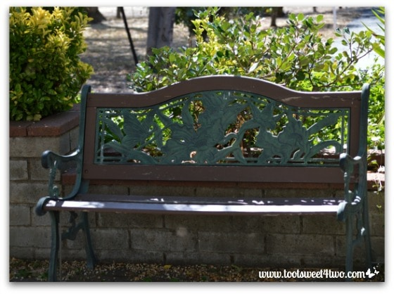 Park bench - Mission Santa Ysabel