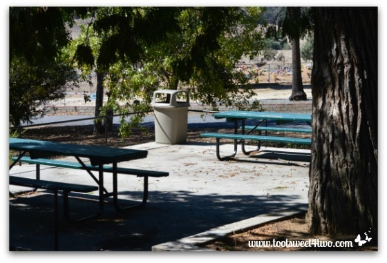 Picnic area - Mission Santa Ysabel