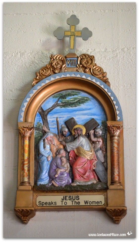 Religious icon - Mission Santa Ysabel