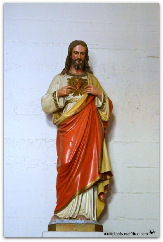 Statue of Jesus - Mission Santa Ysabel