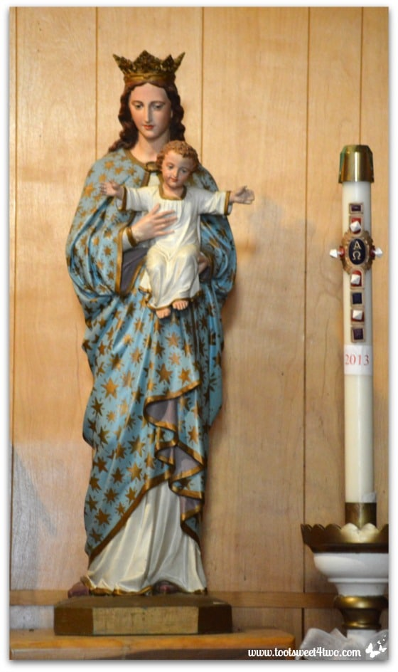 Statue of Mary and Baby Jesus - Mission Santa Ysabel