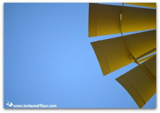 The blades of the windmill - Mission Santa Ysabel