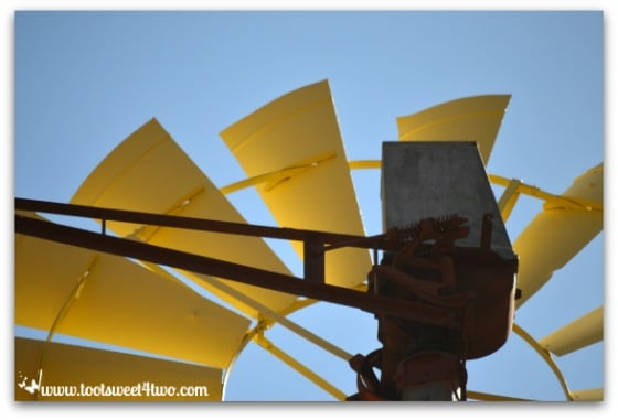Windmill blades - Mission Santa Ysabel